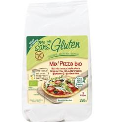 Ma Vie Sans Mix voor pizzabodem 350 gram   Superfoodstore.nl