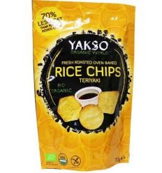 Yakso Rice chips teriyaki 70 gram | Superfoodstore.nl
