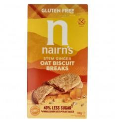 Nairns Biscuit breaks ginger 160 gram | Superfoodstore.nl