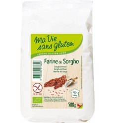 Ma Vie Sans Sorghummeel glutenvrij 500 gram   Superfoodstore.nl