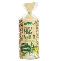 Allos Amarant maiswafels rozemarijn 100 gram | Superfoodstore.nl