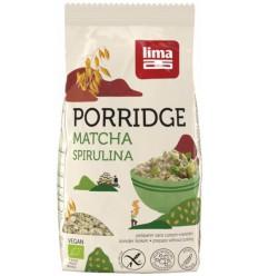Lima Porridge express matcha spirulina 350 gram  