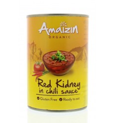 Amaizin Rode kidneybonen in chilisaus 400 gram | € 1.48 | Superfoodstore.nl