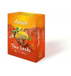 Amaizin Taco schelpen 150 gram   € 2.40   Superfoodstore.nl