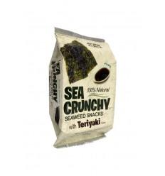 Sea Crunchy Nori zeewier snacks teriyaki 10 gram |