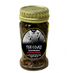 Plantaardige olie Fish 4 Ever Ansjovisfilet in olijfolie 95