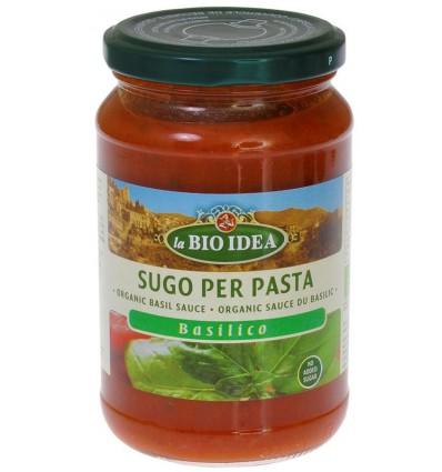 Bioidea Pastasaus basilicum 340 gram kopen