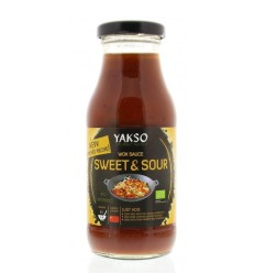 Yakso Woksaus sweet & sour 240 ml | € 1.79 | Superfoodstore.nl