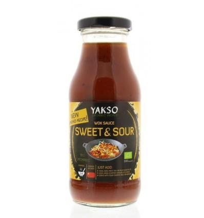 Yakso Woksaus sweet & sour 240 ml