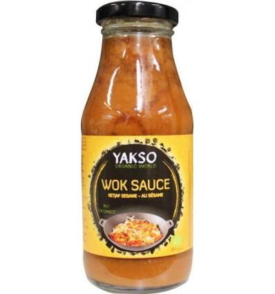 Yakso Woksaus sweet soy 240 ml kopen
