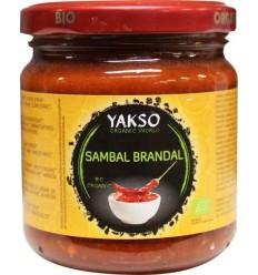 Yakso Sambal brandal 200 gram | € 2.33 | Superfoodstore.nl