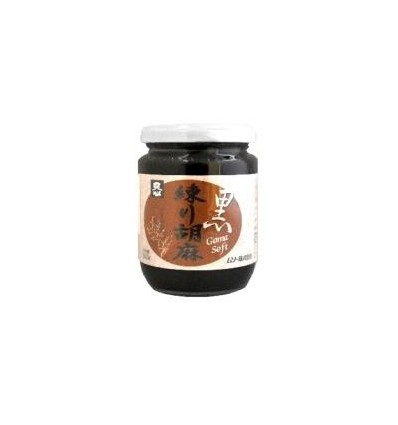 Muso Zwarte tahin sesampasta 240 gram | Superfoodstore.nl