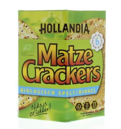Crackers Hollandia Matzes Matze cracker spelt 100 gram kopen
