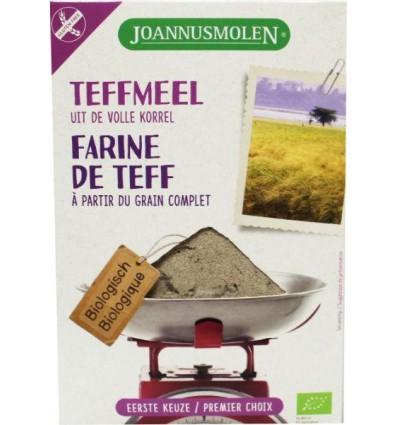 Joannusmolen Teffmeel eerste keuze 300 gram kopen