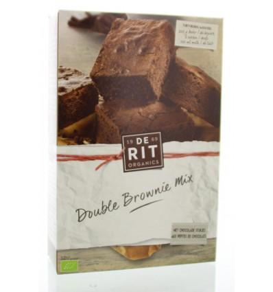 Bakmixen De Rit Brownie mix 400 gram kopen