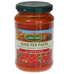 Bioidea Pastasaus arrabiata 340 gram | Superfoodstore.nl