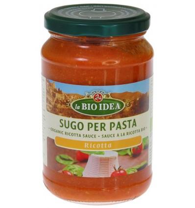 Pastasauzen Bioidea Pastasaus ricotta 340 gram kopen