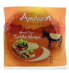 Amaizin Tortilla wraps 6 stuks | Superfoodstore.nl