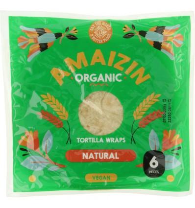 Amaizin Tortilla wraps 6 stuks | € 2.22 | Superfoodstore.nl