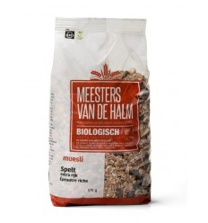 De Halm Muesli spelt extra rijk 575 gram | Superfoodstore.nl