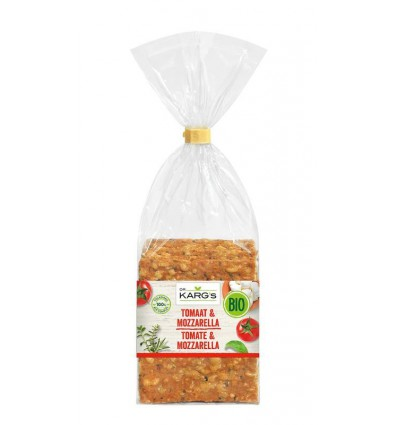 DR Karg Crackers tomaat mozarella 200 gram | Superfoodstore.nl