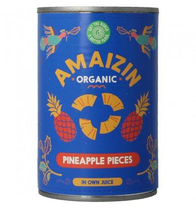 Amaizin Ananasstukjes op sap 400 gram kopen