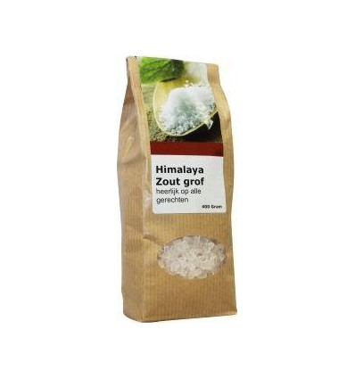 Verillis Himalaya grof zout 400 gram | Superfoodstore.nl