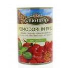 Bioidea Tomatenstukjes basilicum 400 gram