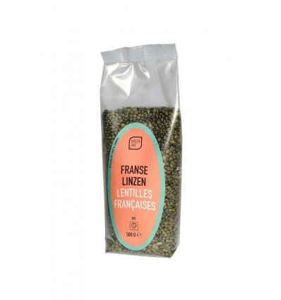Greenage Franse linzen 500 gram   € 3.15   Superfoodstore.nl