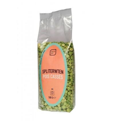 Greenage Spliterwten 500 gram | Superfoodstore.nl