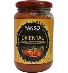 Yakso Oriental wok sauce 350 gram | Superfoodstore.nl