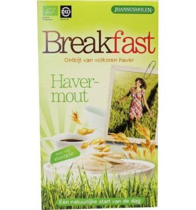 Havermout Joannusmolen Breakfast ontbijt 300 gram kopen