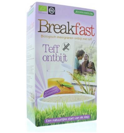 Joannusmolen Breakfast teff ontbijt 300 gram | € 2.72 | Superfoodstore.nl