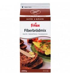 Finax Bakmix bruin vezelrijk 1 kg | Superfoodstore.nl