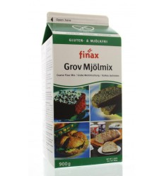 Finax Coarse flourmix bruin 900 gram | Superfoodstore.nl