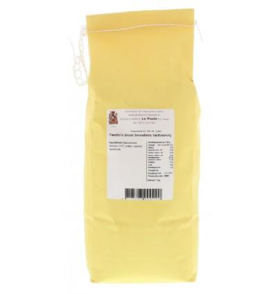 Le Poole Twello's bruin broodmix lactosevrij 1 kg | € 6.63 | Superfoodstore.nl