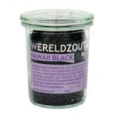 Esspo Wereldzout Hawaii Black glas 160 gram | Superfoodstore.nl