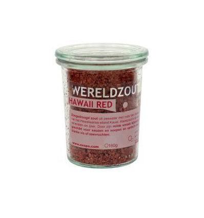 Esspo Wereldzout Hawaii Red glas 160 gram | Superfoodstore.nl