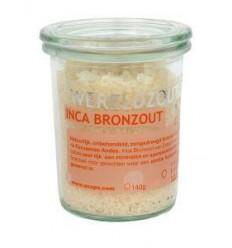 Zout Esspo Wereldzout Inca Bronzout glas 140 gram kopen