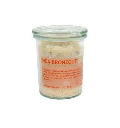 Zout Esspo Wereld Inca Bron glas 140 gram kopen