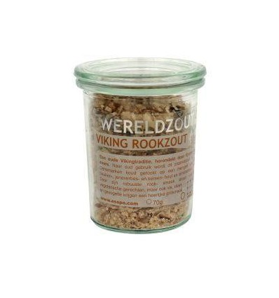 Esspo Wereldzout Viking Rookzout glas 70 gram | € 6.83 | Superfoodstore.nl