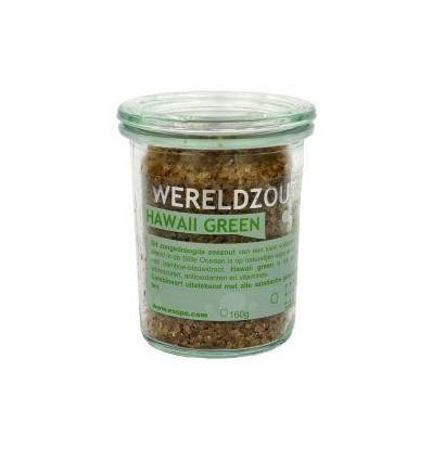 Esspo Wereldzout Hawaii Green glas 160 gram | Superfoodstore.nl
