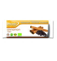 Organic Food Bar Bar kaneel rozijn 50 gram | Superfoodstore.nl
