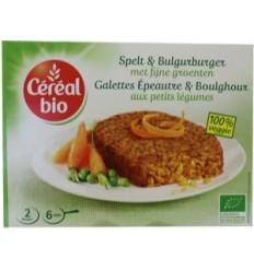 Cereal Spelt & bulgur burger met fijne groenten 200 gram |