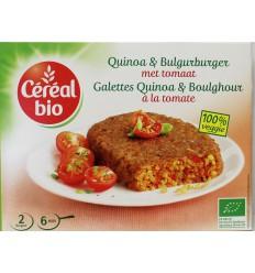 Cereal Quinoa tomaat burger 200 gram   € 3.15   Superfoodstore.nl