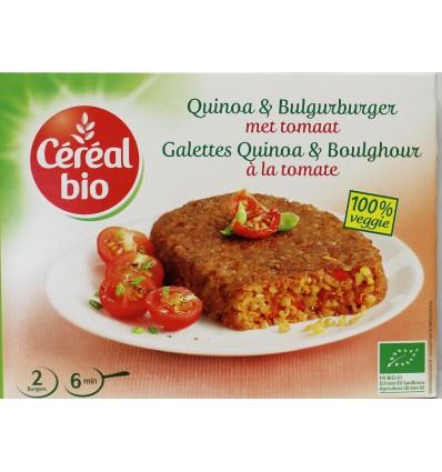 Cereal Quinoa tomaat burger 200 gram | € 3.15 | Superfoodstore.nl
