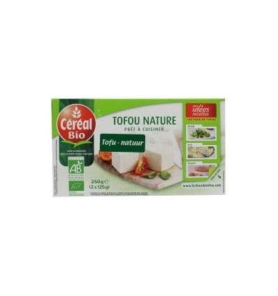 Natuurvoeding Cereal Tofu natuur 250 gram kopen