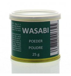Muso Wasabi poeder 25 gram | € 4.01 | Superfoodstore.nl