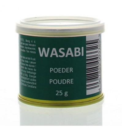 Muso Wasabi poeder 25 gram | Superfoodstore.nl