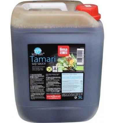 Lima Tamari 25% minder zout 5 liter | € 65.66 | Superfoodstore.nl